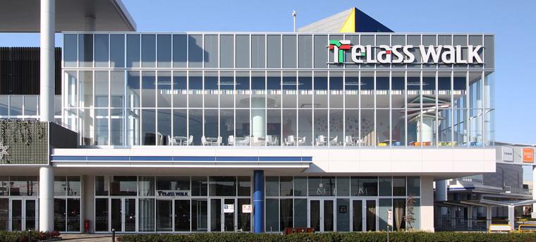 昭和フロント大型複合施設アピタの施工実績画像